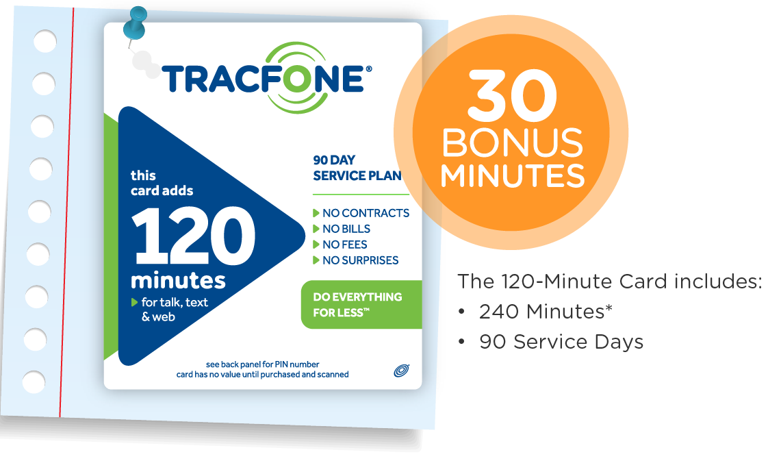 Highlights for TracFone. Don't stay with a big phone company that treats you like a number and leaves you stuck in contract plans. Pay-as-you-go and by-the-month phone coverage plans are available from TracFone.