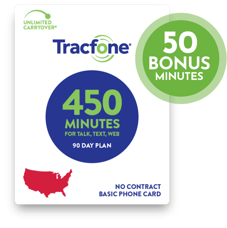 450 minutes card