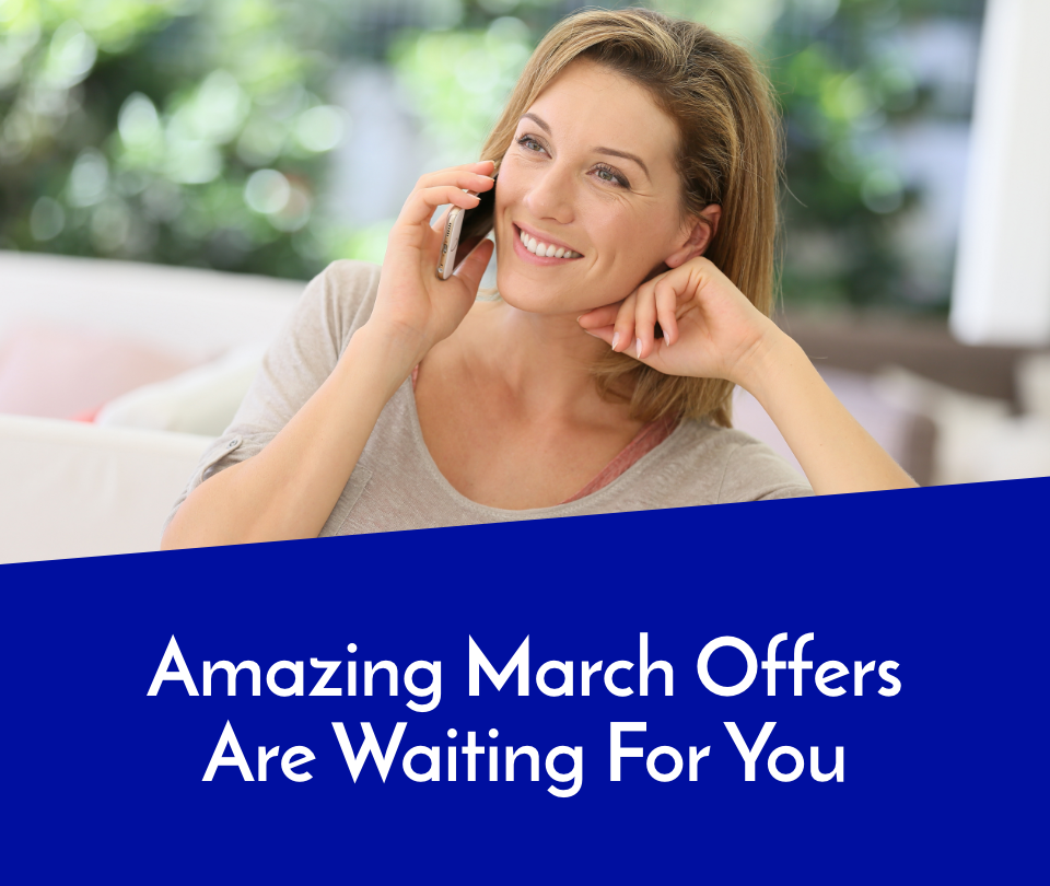Amazing March Offers Are Waiting For You